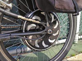 Колесо-мотор для велосипеда