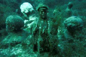 ленин под водой
