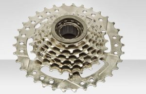 трещетка велосипедного колеса