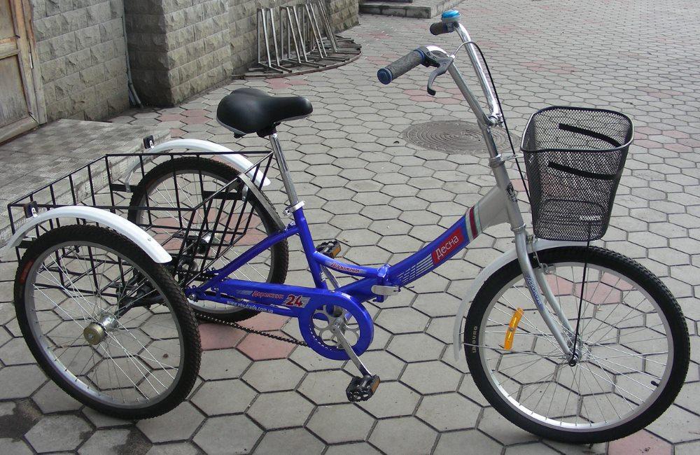 Велосипед с 3 колесами