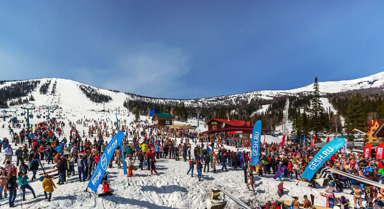 Горнолыжный курорт Шерегеш - что это такое, где находится центр, как добраться, длина лыжных трасс, горных склонов и спусков в ГЛК на stayer.su