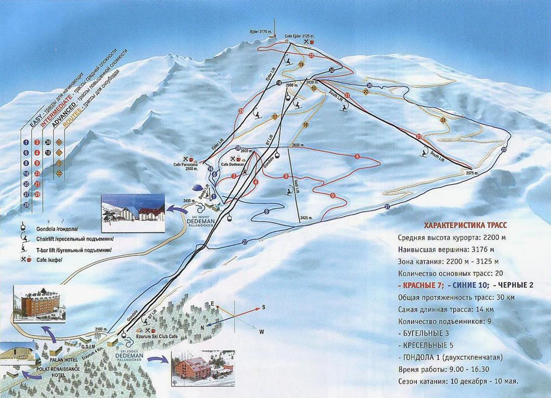 Горнолыжные туры в Турцию из Москвы 2019 недорого