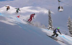 Определились чемпионы России в ски-кроссе