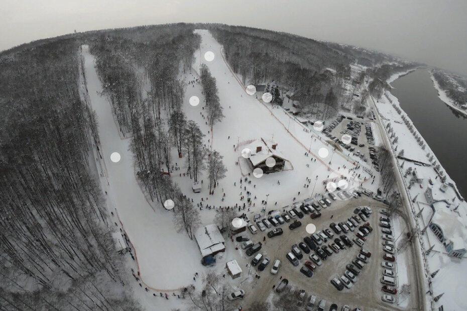 Чулково - горнолыжный курорт в Подмосковье