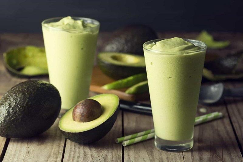С имбирем и авокадо