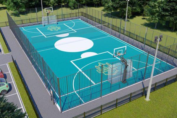 Организация спортивных площадок