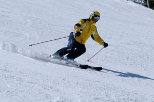 Азы – техника катания на горных лыжах