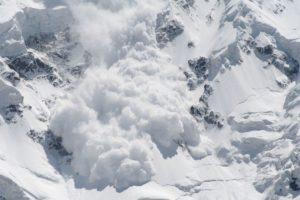 Определение снежной лавины: разновидности, безопасность