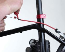 Замена тросика переключения передач на велосипеде